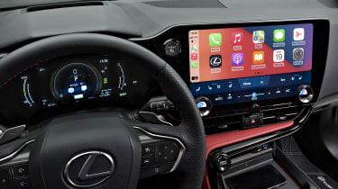New 2022 Lexus NX 450h+ interior
