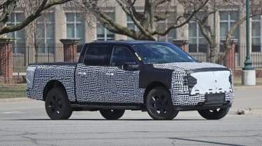 Ford F-150 Electric Pickup - Side
