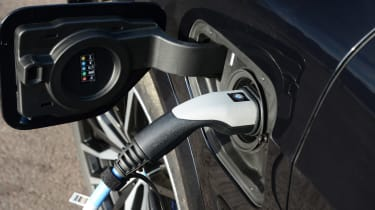 BMW X5 charging port