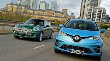 MINI Electric vs Renault ZOE