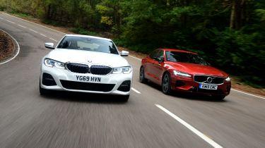 BMW 330e vs Volvo S60 T8