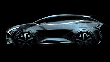 Kia Sportage European-spec concept art