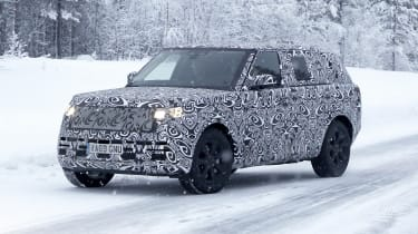 Range Rover spy shot